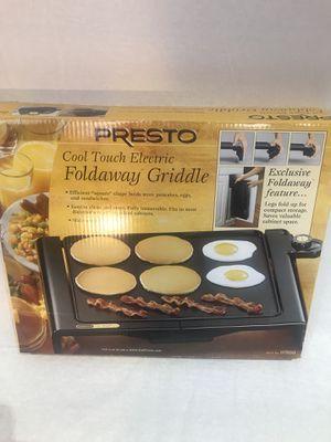 Presto foldaway electric griddle for Sale in Gaithersburg, MD