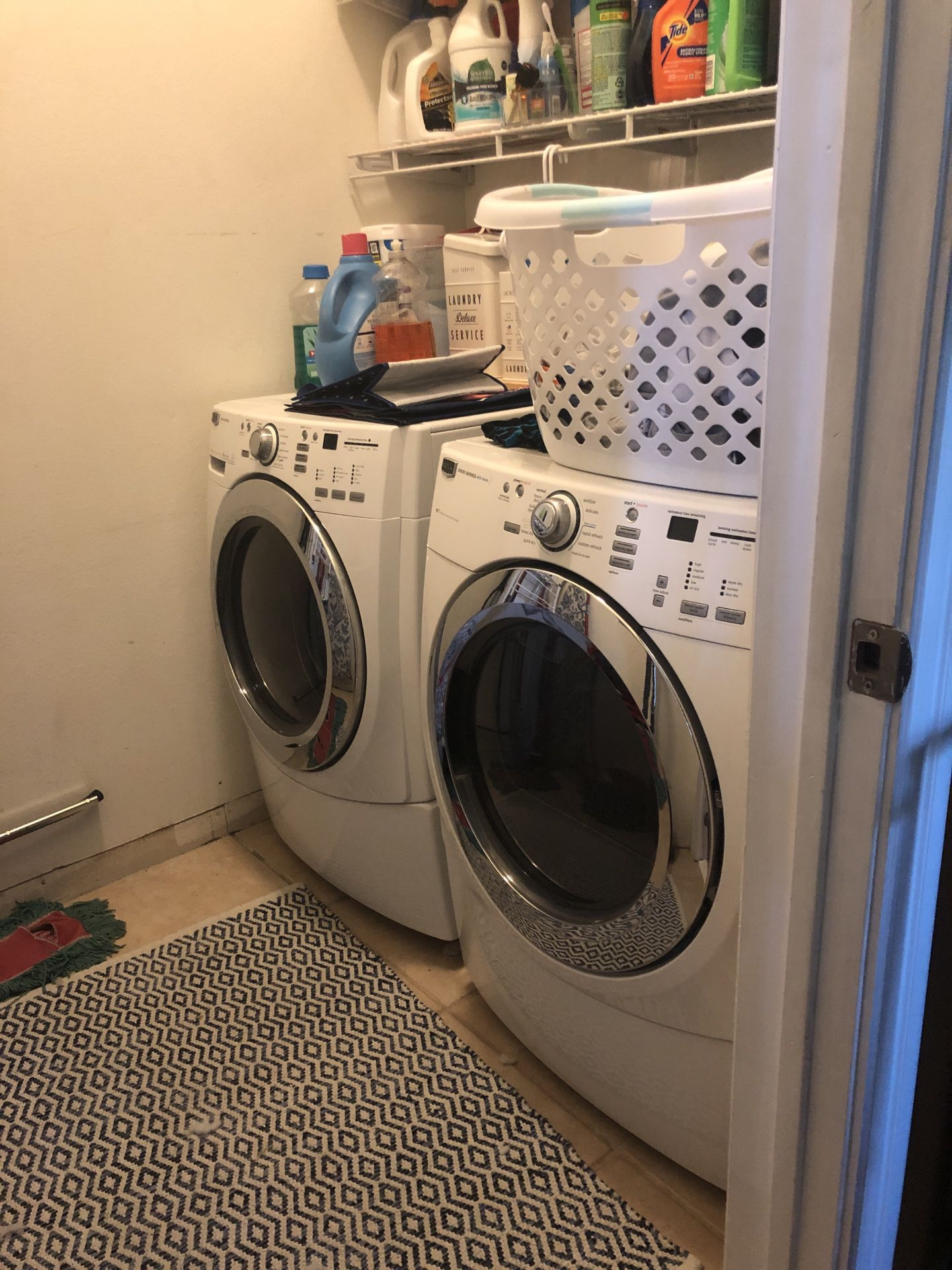 Washer & Dryer 500 Each
