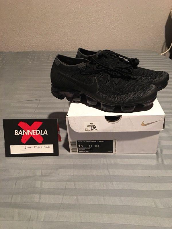 quality design dbf2e 87fe9 nike triple black 1.0 vapormax for Sale in Carson, CA - OfferUp
