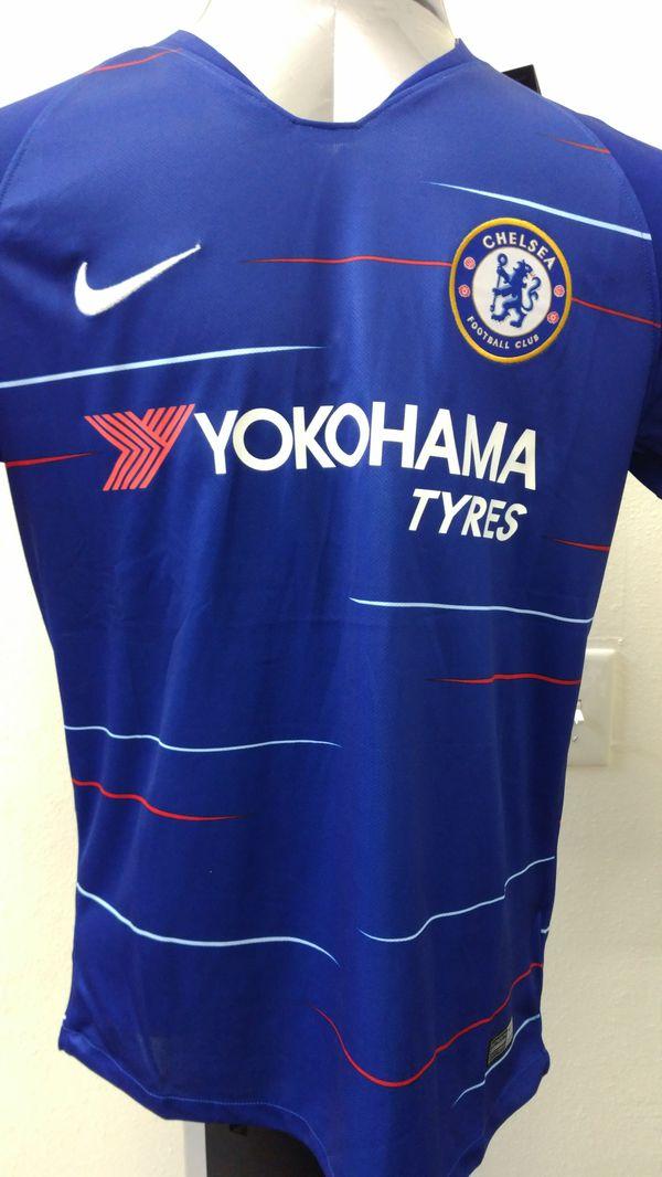 8077e8f21dd Chelsea FC Home Jersey - Premier League 2018-2019 - Fútbol Soccer Jerseys  and Kits. Chula Vista ...