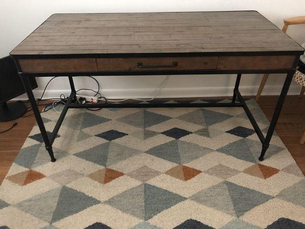 Pottery Barn Juno Reclaimed Wood Desk Austin Tx
