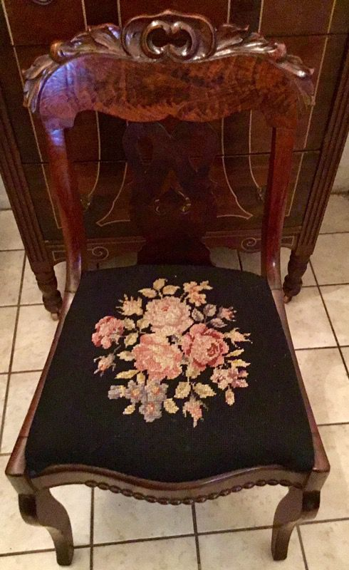 1800's Antique Carved Tiger Wood Chair. (Antiques) in Tampa, FL - OfferUp - 1800's Antique Carved Tiger Wood Chair. (Antiques) In Tampa, FL