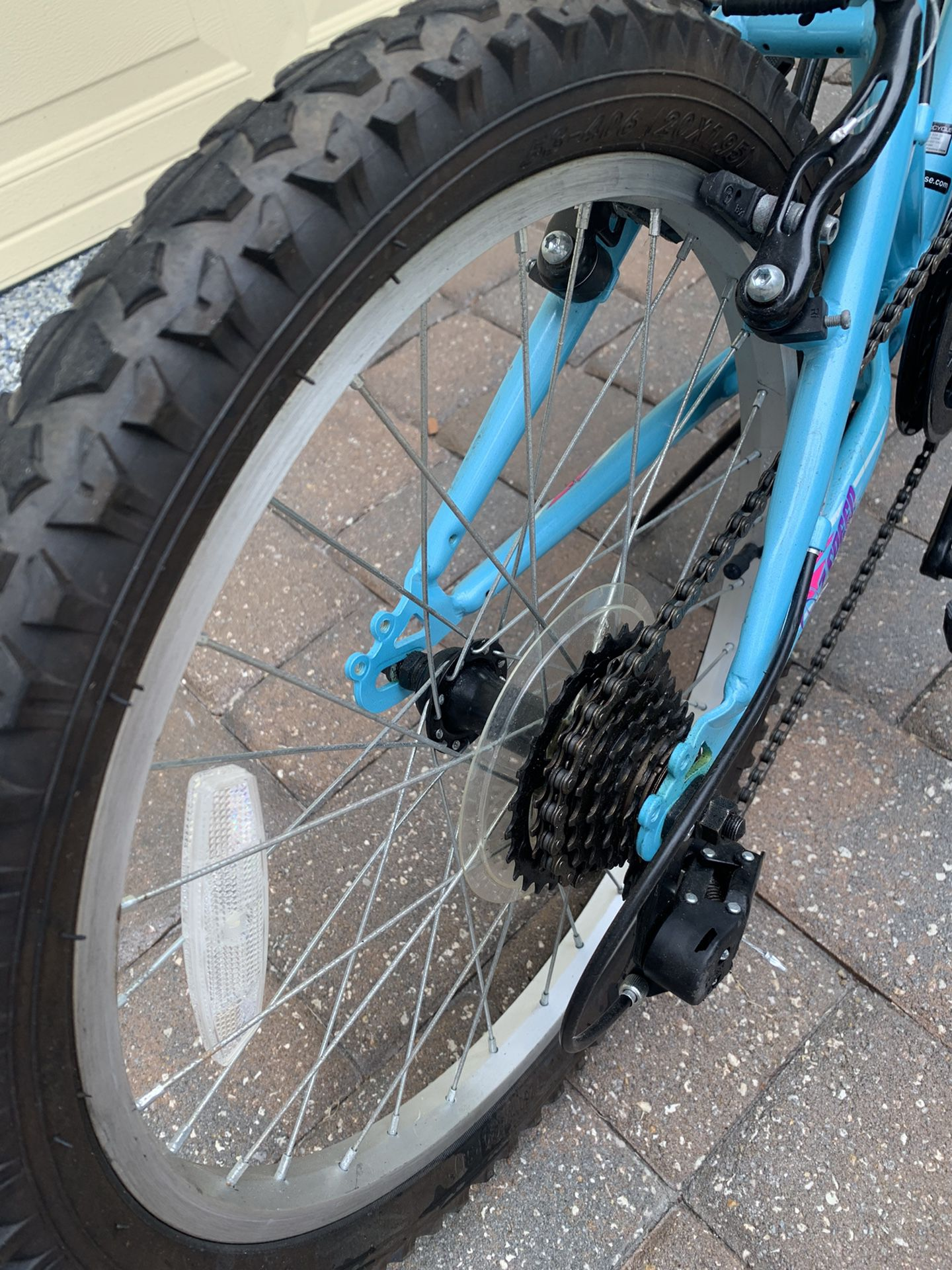 Mongoose Byte , BMX style MTB Bike, Fully Serviced