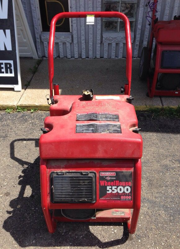 GENERAC WHEELHOUSE GENERATOR WITH BRIGGS & STRATTON ENGINE for Sale in  Taylor, MI - OfferUp