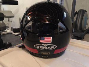 Vemar lightweight Full-face Helmet with Commo system for Sale in Eldersburg, MD