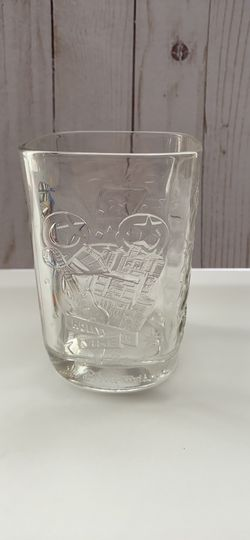 Y2K 2000 Walt Disney World studios Mickey Mouse glass Thumbnail