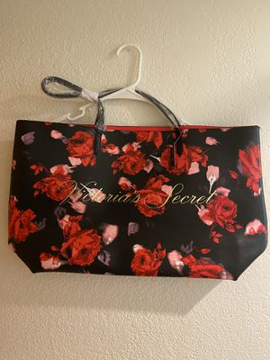 Photo Floral Victoria Secret Tote Bag