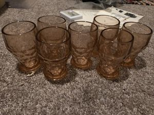 Vintage antique 1960's crystal cups for Sale in Dallas, TX