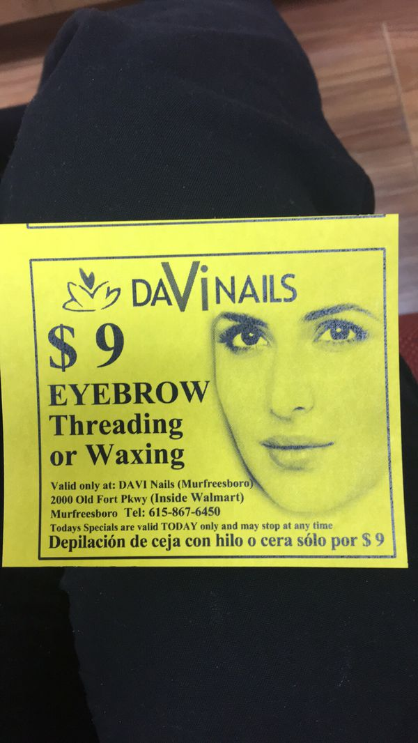 Eyebrow Threading And Eyelashes For Sale In Smyrna Tn Offerup
