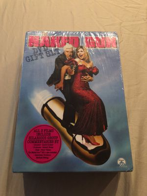 The Naked Gun DVD full collection (unopened) for Sale in Washington, DC