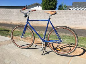 Single speed blue bicycle for Sale in Scottsdale, AZ