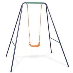 2-in-1 Single Swing and Toddler Swing Orange Thumbnail