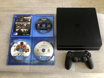 New PS4 Slim 1TB with controller + 3 games! Thumbnail