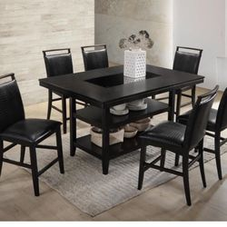 Counter Height Table & 6 Chairs Thumbnail