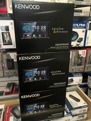 Photo Kenwood excelon reference ddx9906xr on sale today, get hooked up by the best in la