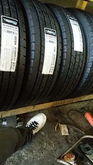 four bright new good set of tires for sale 235/85/16 for Sale in Washington, DC