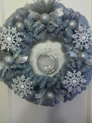 Silver balls wreath for Sale in Dundalk, MD