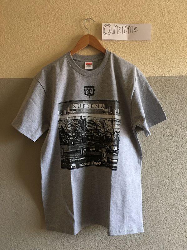 Supreme Florenza Tee (Grey) for Sale in Las Vegas afb230809c14