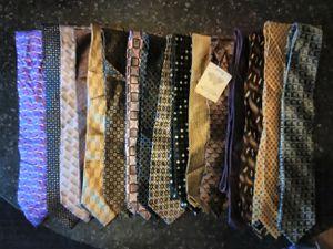 16 or buy individual, Brand name men's neck ties for Sale in Springfield, VA