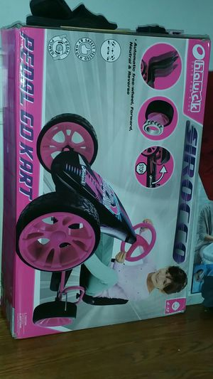 Pedal go kart . 1 boy and 1 girl. Both new in box (never opened). Ages 4 to 12 years old. $100.00 each firm. ($170.00 each at walmart) for Sale in Lynchburg, VA