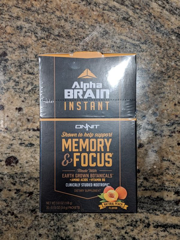 Alpha Brain Instant 30 Pack For Sale In Aurora Co Offerup