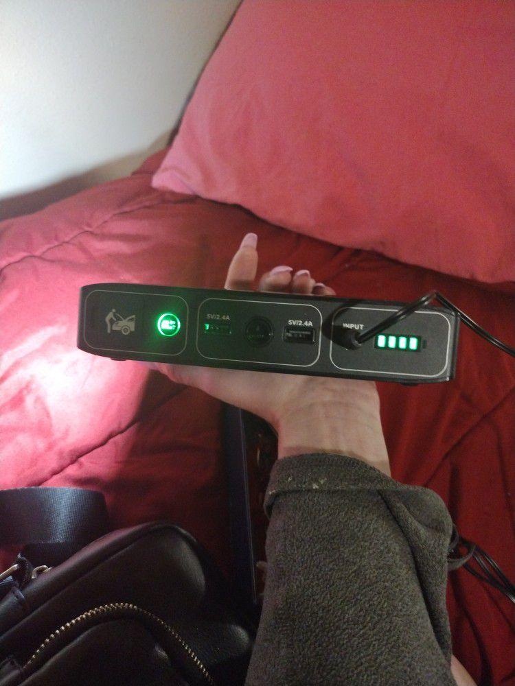 Portable Power Jumper Starter