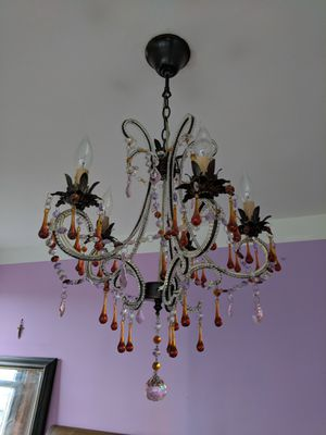 Beautiful Chandelier, Chrystal Original Design for Sale in New York, NY