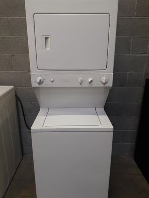 GE stackable machine working perfectly clean and neat warranty and deliver for Sale in Baltimore, MD