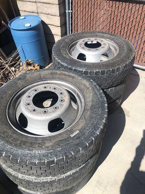 Photo Ram 5500, F450,F550 10 lug wheels and tires
