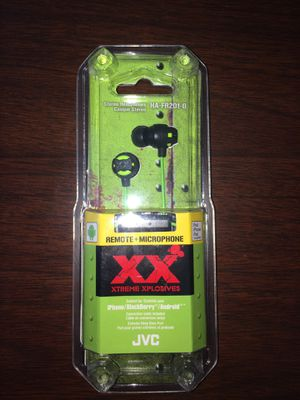 JVC HA-FR201-G XX Xtreme Xplosives Remote+Microphone for Sale in Austin, TX