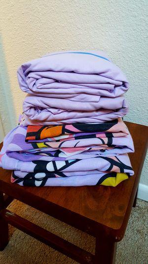 Lavender Twin Sheet Lot/$12 for Sale in Everett, WA