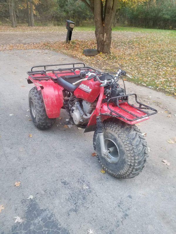 1985 honda big red atc250es