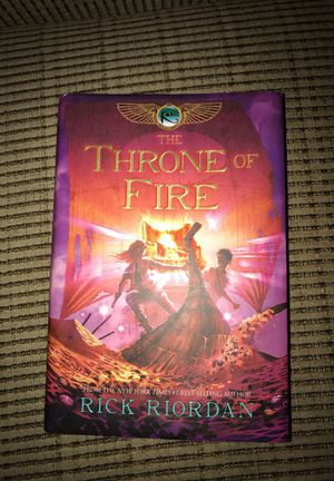 The Throne of Fire by Rick Riordan for Sale in Laveen Village, AZ