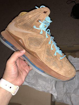 Nike Lebron X EXT QS SIZE 9.5 for Sale in Arlington, VA