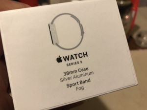 Empty box Apple Watch series 3 38 mm no Watch for Sale in Hollywood, FL