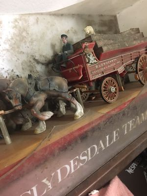 Photo Budweiser vintage display ready to be restored