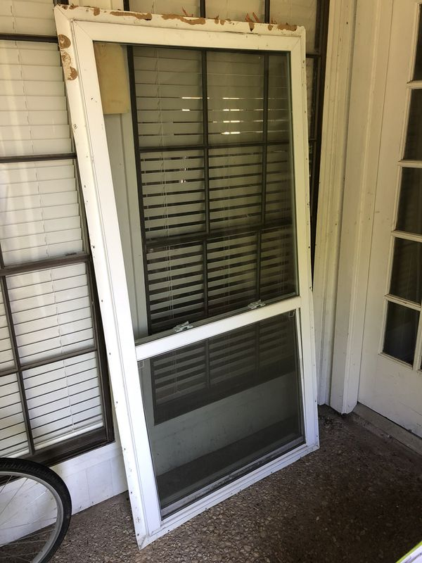 Two single hung vinyl low E windows 36x72 for Sale in Princeton, TX -  OfferUp