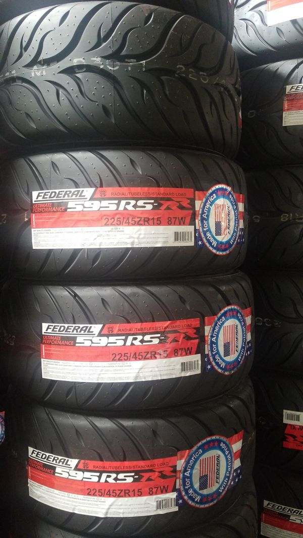 225 45 15 >> Brand New Federal 225 45 15 595rs Rr Brand New Size For Sale In