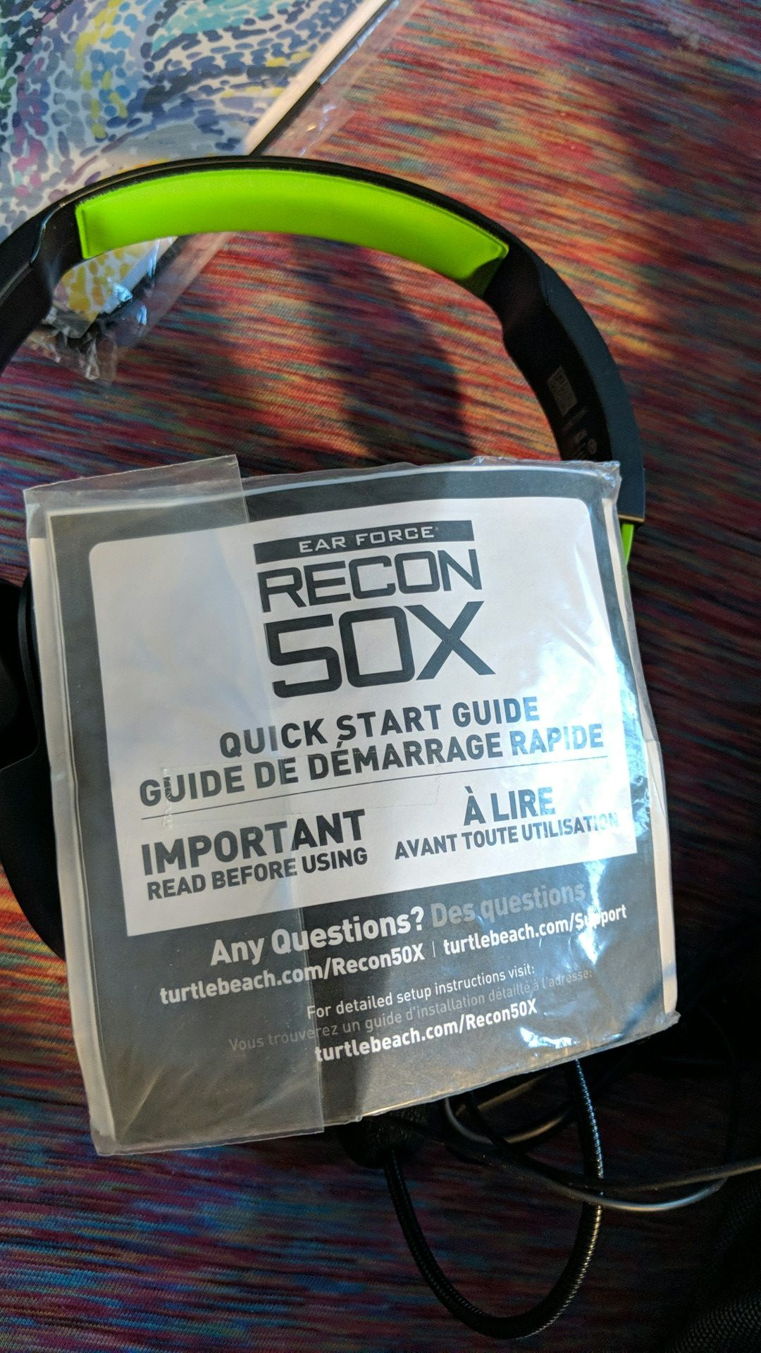Recon sox gaming headset