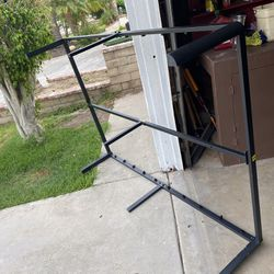 FULL SIZE metal bed frame  Thumbnail