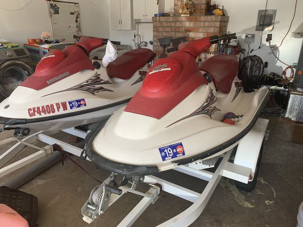 Jetskies With Trailer For Sale In Antioch  Ca