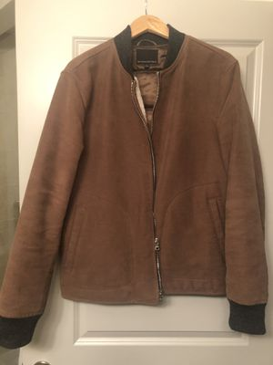 Men's Carhart style Coat with shearling lining for Sale in Tysons, VA