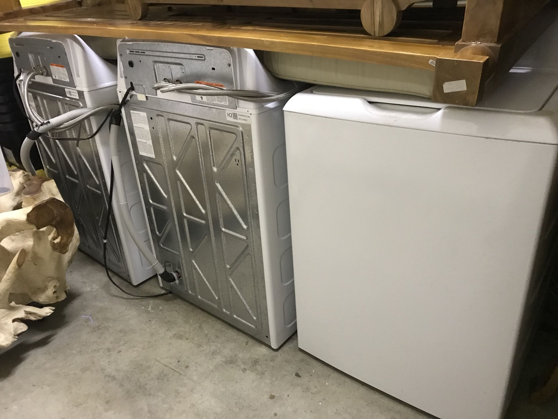 3 washer in good condition. Used about 15 times each one