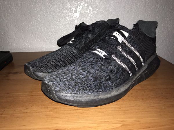 """new styles 2a4fe 0d66f Adidas EQT Boost """"Triple Black"""" Size 11.5 for Sale in Modesto, CA - OfferUp"""