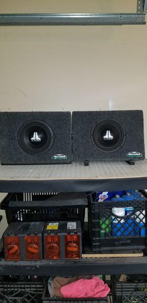 Photo 2 JL Audio 8 subs