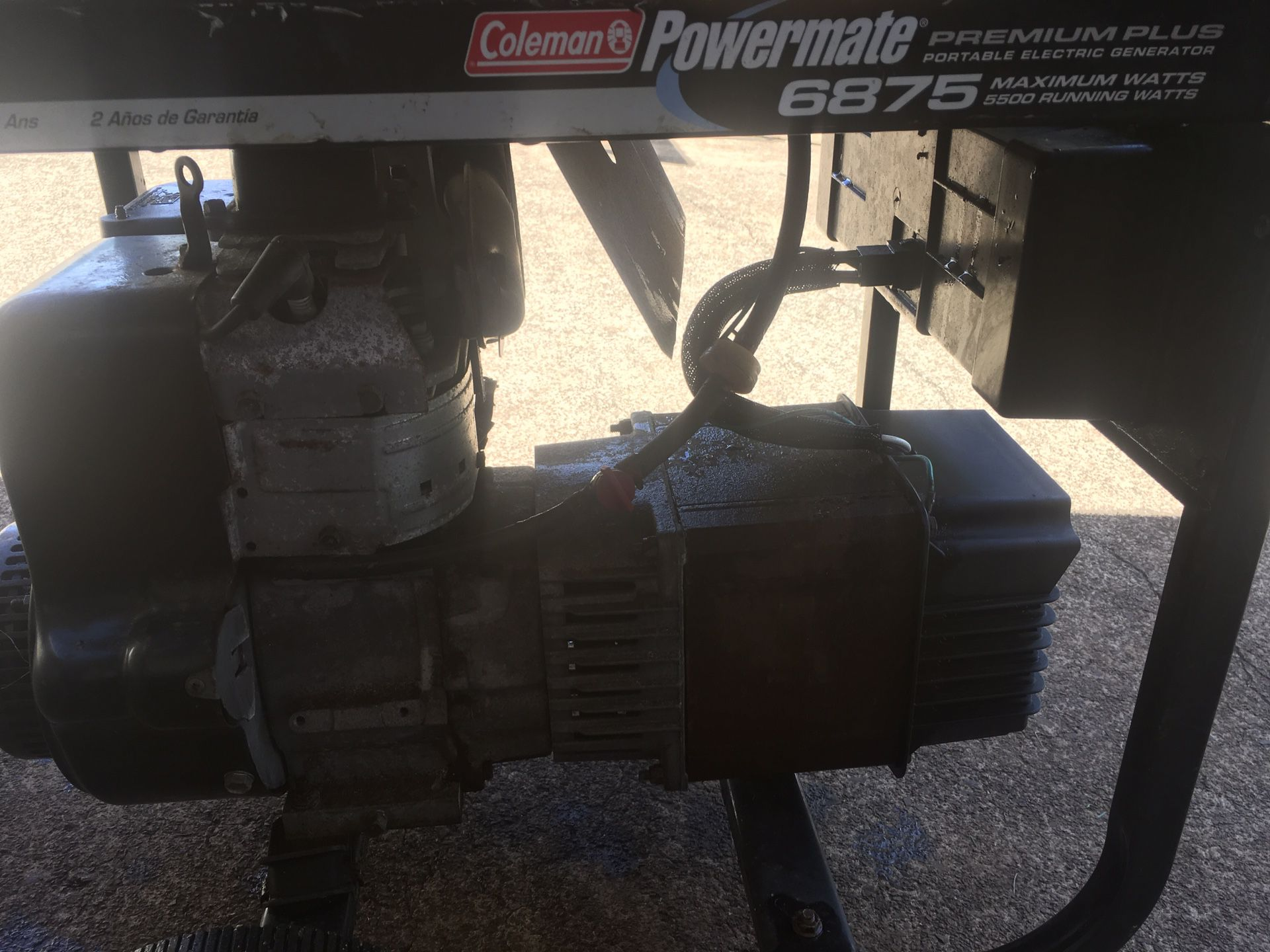 Power mate generator 5500