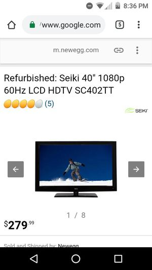 Seiki TV for Sale in San Diego, CA