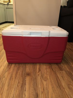 Coleman, cooler, camping, 50 quart cooler for Sale in Beverly Hills, CA