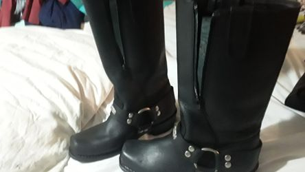 Motorcycle riding boots size 7 Thumbnail