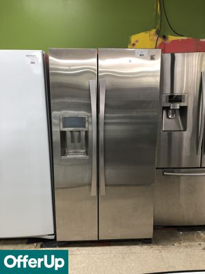 Photo Kenmore Refrigerator Fridge Side by Side Stainless Steel #788